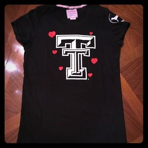 Victoria Secret Collegiate Texas Tech Tee!